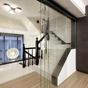后现代风格简约别墅楼梯装修效果图