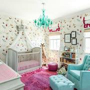 美式风格时尚创意儿童房设计装修效果图赏析