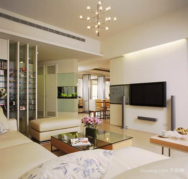 现代风格精致时尚三室两厅室内装修效果图赏析