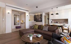 89平米宜家风格简装两室两厅室内装修效果图赏析