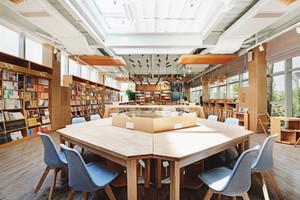 260平米现代风格书店设计装修效果图赏析