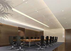 80平米现代风格会议室装修效果图赏析