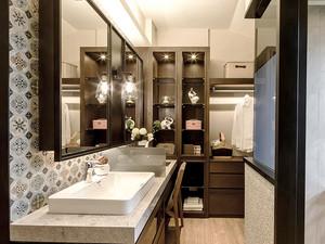 150平米后现代风格精致复式楼室内装修效果图案例