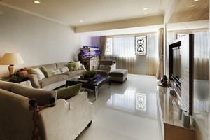 简欧风格三居室室内客厅装修效果图