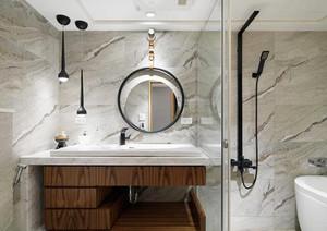 92平米现代简约风格精致三室两厅室内装修效果图欣赏