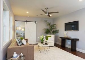 简约风格小户型客厅沙发装修效果图赏析