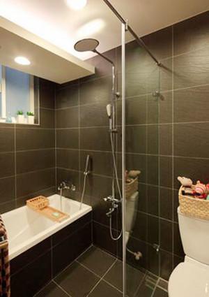 65平米简约风格一居室小户型室内装修效果图