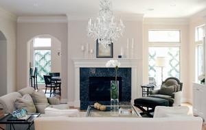 欧式风格精致别墅客厅壁炉装修效果图赏析