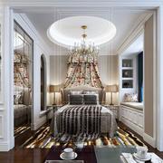 欧式风格精致典雅大户型卧室装修效果图赏析