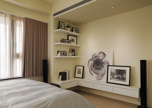 76平米宜家风格简约温馨两室一厅室内装修效果图案例