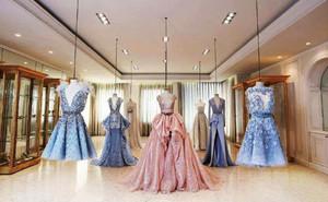 120平米简欧风格婚纱店设计装修效果图赏析