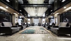 80平米中式风格会客厅装修效果图赏析