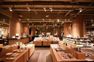 300平米现代风格大型书店吊顶设计装修效果图