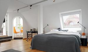 98平米北欧风格精致loft装修效果图案例