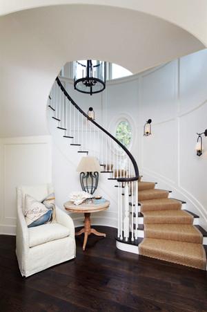 欧式风格精致别墅楼梯设计装修效果图