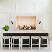 欧式风格精致别墅酒柜吧台设计装修效果图