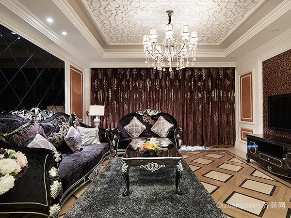 140平米欧式风格精装大户型室内装修效果图赏析