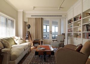 简欧风格大户型室内书房设计装修效果图赏析