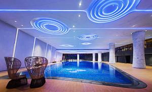 100平米现代风格酒店游泳池装修效果图赏析