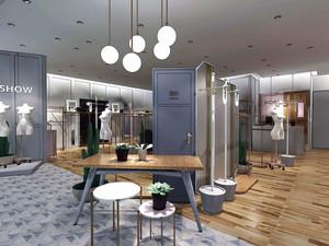 160平米后现代风格服装店设计装修效果图赏析