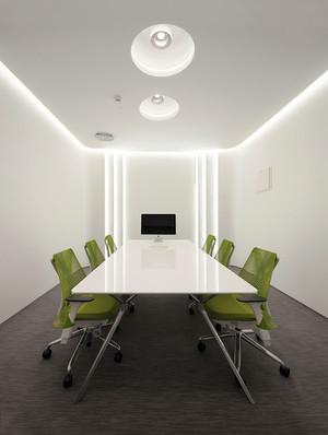 60平米现代简约风格会议室装修效果图赏析