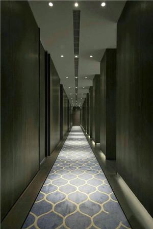 240平米现代风格酒店过道设计装修效果图赏析