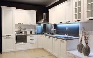 10平米现代简约风格整体厨房装修效果图赏析