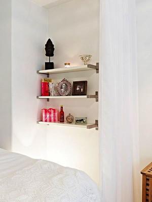 48平米北欧风格纯白简约单身公寓装修效果图