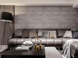 82平米后现代风格精致两室两厅室内装修效果图案例