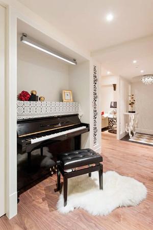 85平米简欧风格温馨舒适两室两厅室内装修效果图