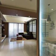 简约风格两居室餐厅隔断设计装修效果图赏析