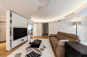 120平米简约风格精装室内装修效果图案例