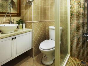 103平米现代简约美式风格三室两厅室内装修效果图