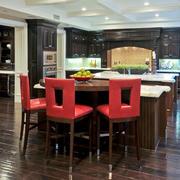 美式风格大户型室内精致吧台设计装修效果图赏析