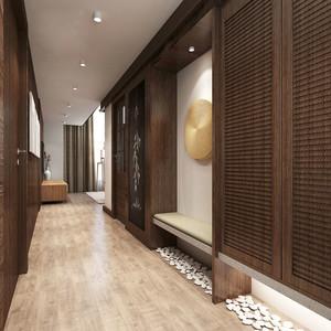 168平米日式风格跃层设计装修效果图案例