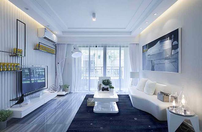 100平米现代风格精致室内装修效果图案例赏析