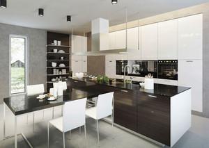 简约风格开放式厨房餐厅设计装修效果图赏析