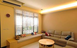 简约风格温馨两室两厅室内装修效果图赏析