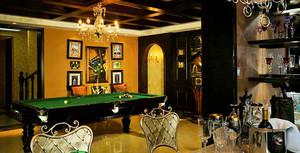 320平米豪华美式风格别墅室内装修效果图案例