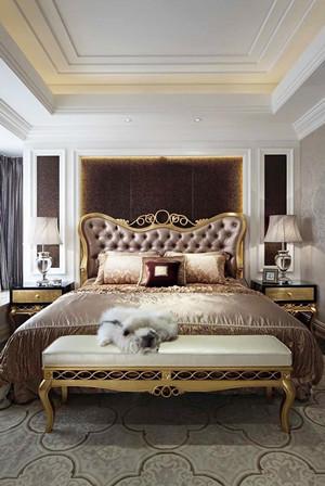 280平米欧式风格低调奢华别墅室内装修效果图