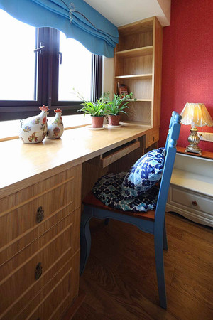 70平米时尚色彩混搭风格公寓装修效果图赏析