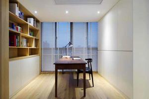 8平米宜家风格简约书房设计装修效果图赏析