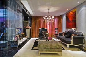 154平米新古典主义风格大户型室内装修效果图欣赏