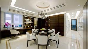 中式风格大户型餐厅吊顶设计装修效果图赏析