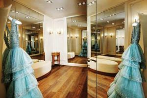90平米简欧风格精致婚纱店设计装修效果图赏析