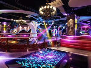 160平米现代风格精致音乐酒吧设计装修效果图