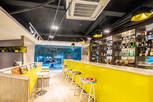 美式混搭风格精致酒吧吧台设计装修效果图赏析