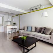 现代简约风格大户型室内客厅装修效果图赏析