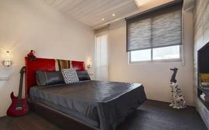 96平米美式乡村风格两室两厅室内装修效果图案例