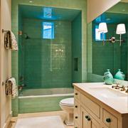 欧式风格精致大户型卫生间装修效果图赏析